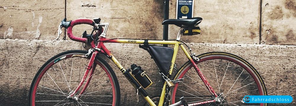 fahrradschloss-rennrad